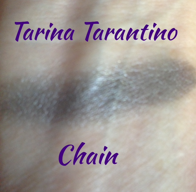 Tarina Tarantino eyeshadow Chain swatch