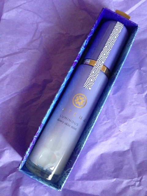 TATCHA Luminous Dewy Mist Spray inner packaging