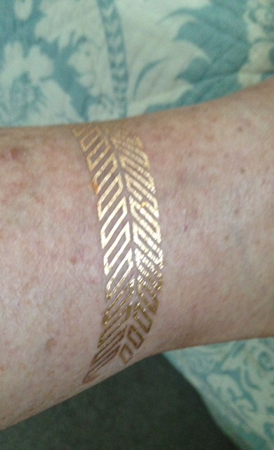 TribeTats Metallic Temporary Tattoos