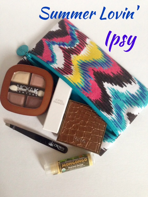 ipsy Glam Bag, Summer Lovin', July 2015