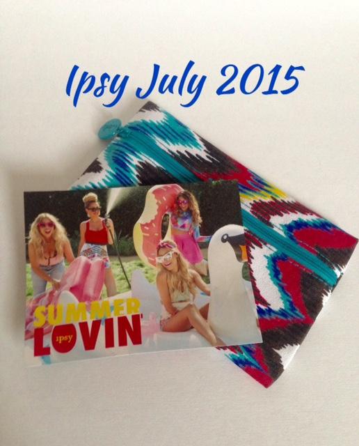 ipsy Glam Bag, Summer Lovin', July 2015