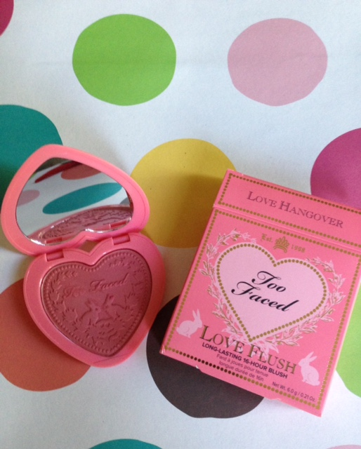 Too Faced Love Flush Blush, Love Hangover shade