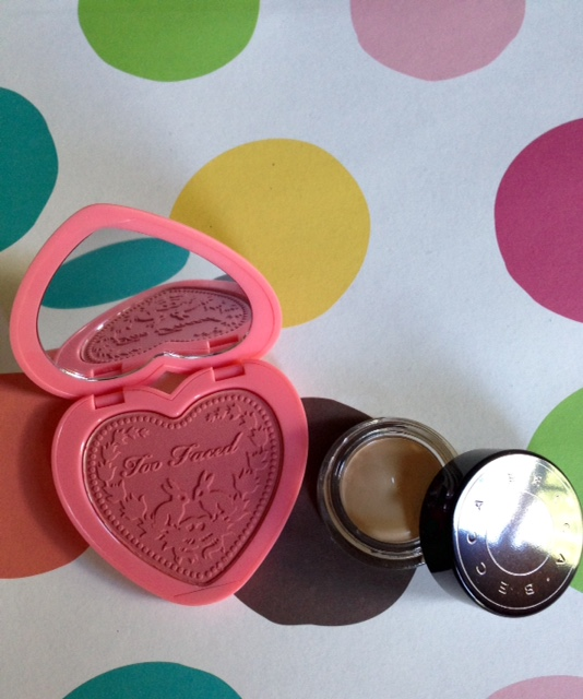 Too Faced Love Flush Blush, Becca Ultimate Coverage Concealer