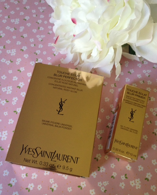 Yves Saint Laurent Blur Primer & Perfector boxes