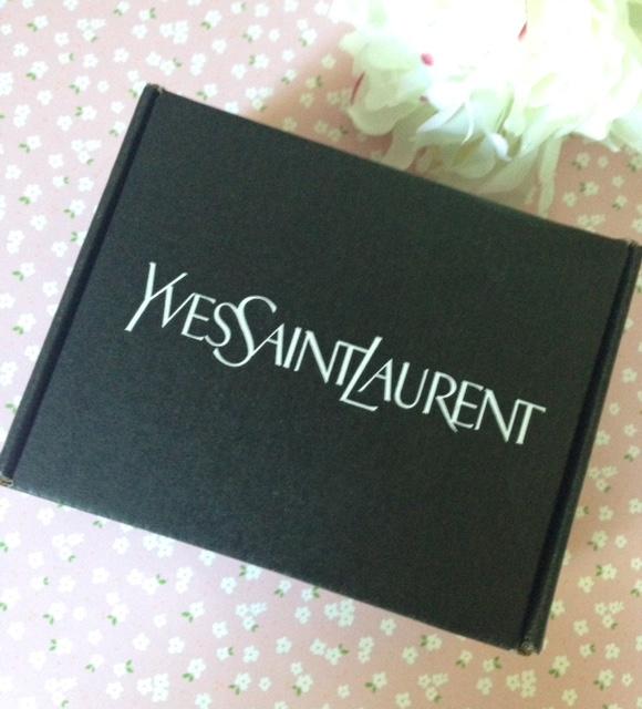 Yves Saint Laurent Influenster mailing box