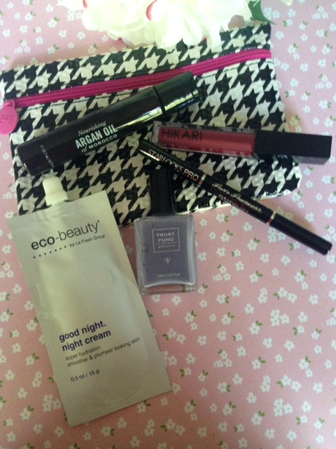ipsy bag September 2015 Prep School theme
