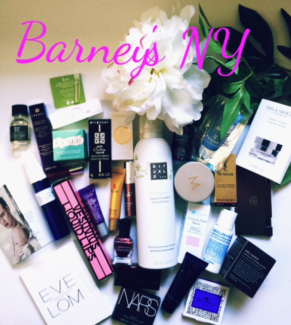 Barney's NY gift with purchase Fall 2015, cosmetics samples, neversaydiebeauty.com @redAllison