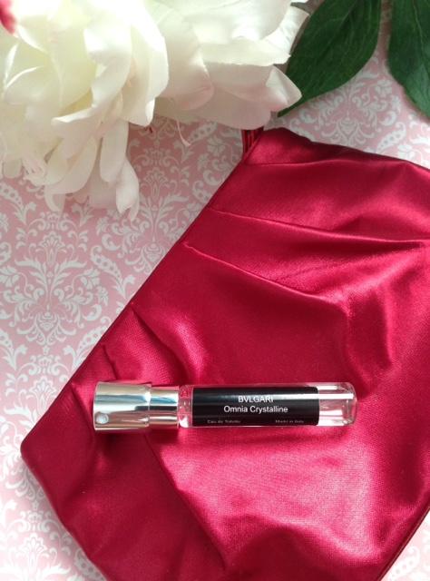 Bvlgari Omni Crystalline EDT from Scentbird Perfume neversaydiebeauty.com @redAllison