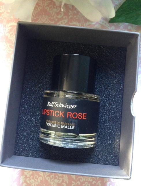 Frederic Malle Lipstick Rose perfume, neversaydiebeauty.com @redfAllison