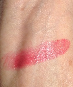 lipstick Queen Endless Summer Moisturizing Lipstick swatch in Aloha in sunlight, neversaydiebeauty.com, @redAllison