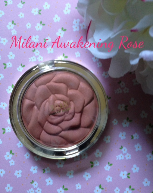 Milani limited edition Powder Blush in Awakening Rose neversaydiebeauty.com @redAllison