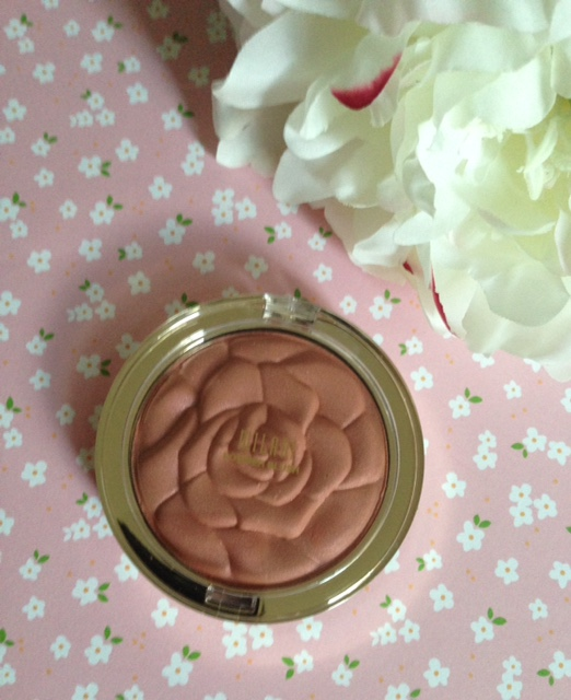 Milani rose powder blush in limited edition Awakening Rose for summer 2015, neversaydiebeauty.com @redAllison