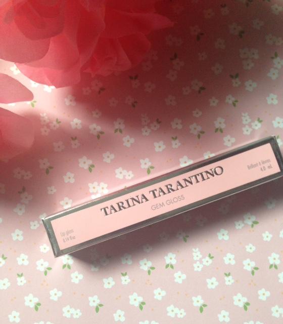 Tarina Tarantino Gem Gloss lipgloss, neversaydiebeauty.com @redAllison