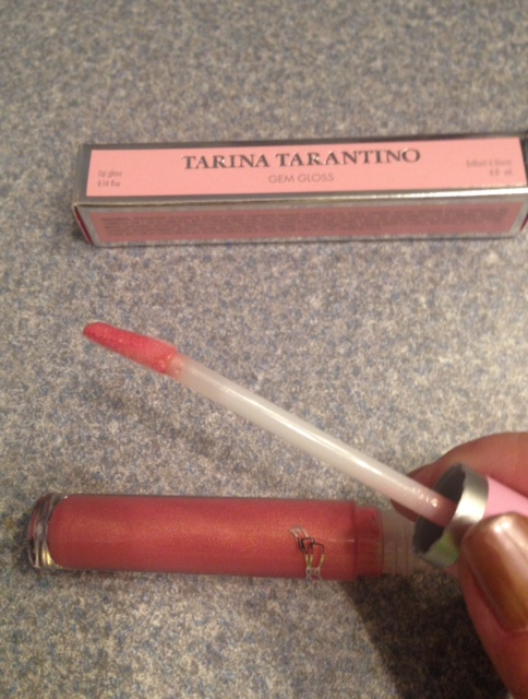 Tarina Tarantino Gem Gloss wand, neversaydiebeauty.com @redAllison