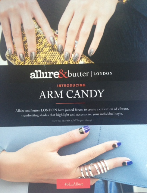 """butterLONDON Allure """"Arm Candy"""" limited edition nail polish collection Fall 2015 neversaydiebeauty.com @redAllison"""