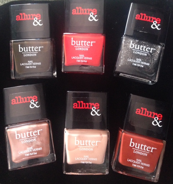 butterLONDON Allure Arm Candy nail lacquers Fall 2015 neversaydiebeauty.com @redAllison