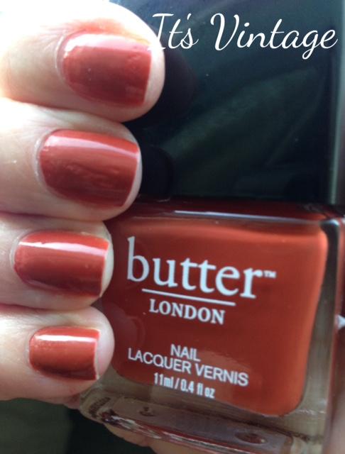 butterLONDON It's Vintage limited edition nail lacquer, neversaydiebeauty.com, @redAllison