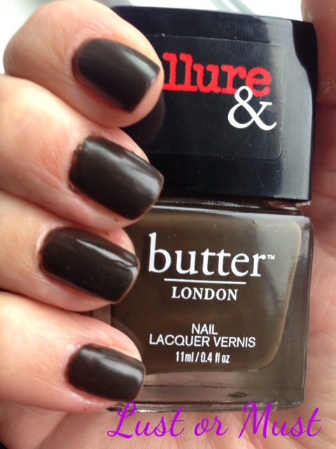 butterLONDON Lust Or Must limited edition nail lacquer, neversaydiebeauty.com, @redAllison