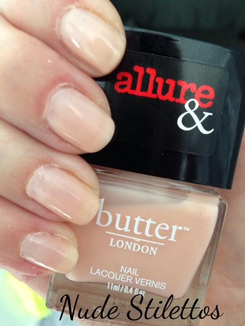 butterLONDON limited edition Nude Stilettos nail lacquer, neversaydiebeauty.com, @redAllison