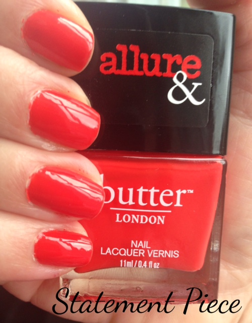 butterLONDON Statement Piece limited edition nail lacquer, neversaydiebeauty.com, @redAllison