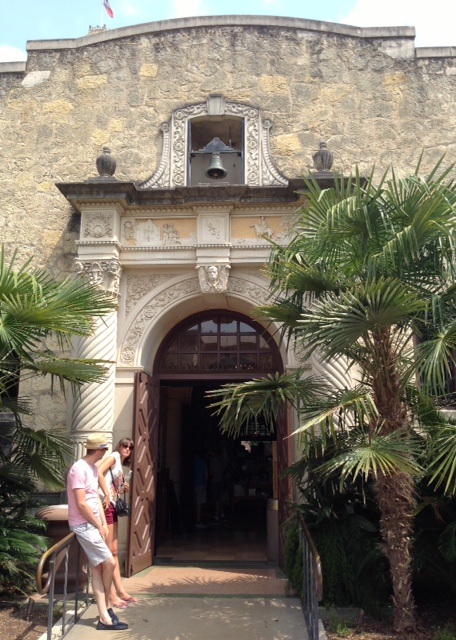 The Alamo compound outbuilding San Antonio, neversaydiebeauty.com @redAllison