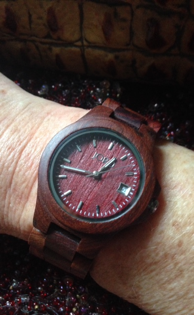 Jord Wood Watch in red neversaydiebeauty.com @redAllison