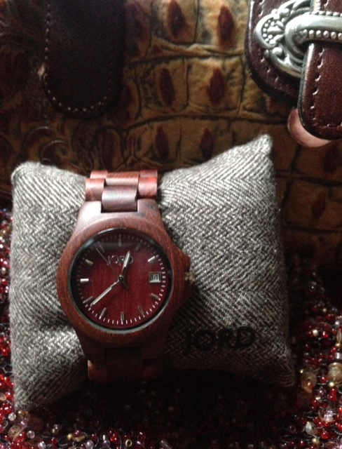 red Jord Wood Watch neversaydiebeauty.com @redAllison