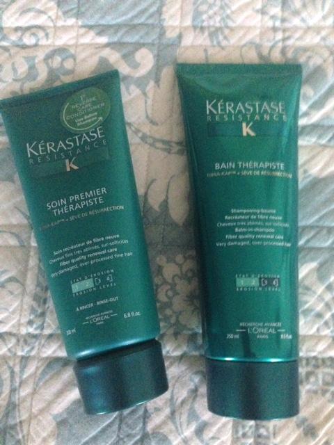 Kerastase Therapiste haircare line: Soin Premier & Bain Therapiste neversaydiebeauty.com @redAllison