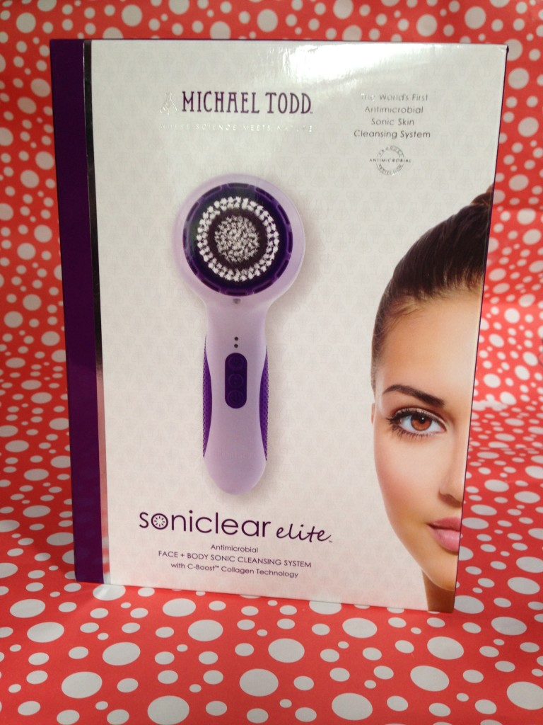 Michael Todd Soniclear Elite box neversaydiebeauty.com @redAllison