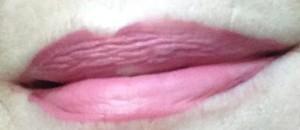 "Milani Amore Matte Lip Creme ""Beloved"" swatch neversaydiebeauty.com @redAllison"