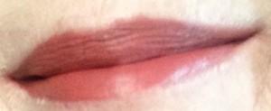 "Milani Amore Matte Lip Creme ""Lust"" swatch neversaydiebeauty.com @redAllison"
