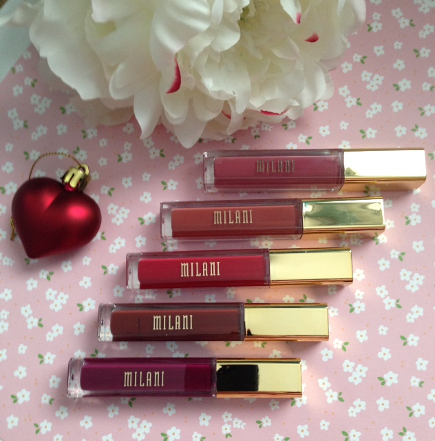 Milani Amore Matte Lip Creme lipsticks neversaydiebeauty.com @redAllison