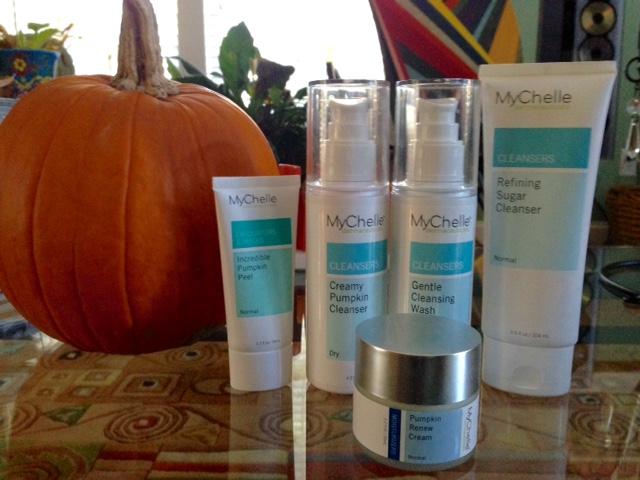 MyChelle pumpkin skincare products neversaydiebeauty.com @redAllison