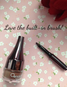 Osmosis Colour Brow Gel in Auburn with brush