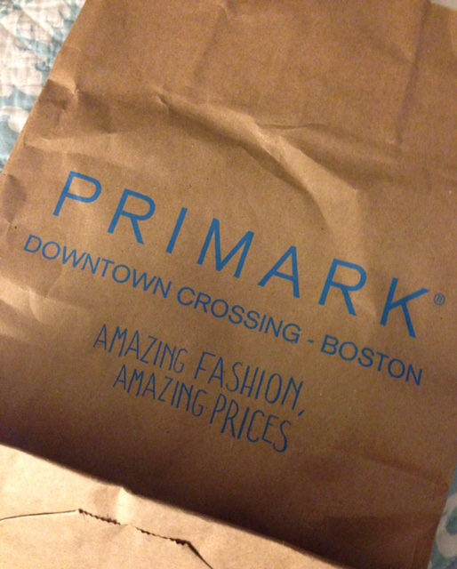Primark shopping bag
