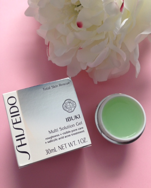Shiseido IBUKI Multi-Solution Gel neversaydiebeauty.com @redAllison