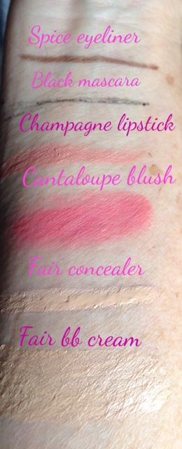 Stowaway Cosmetics kit swatches neversaydiebeauty.com @redAllison