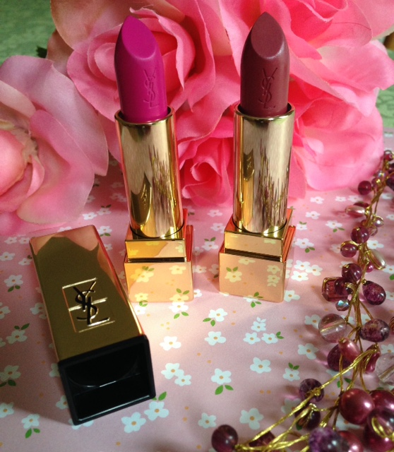 YSL Rouge Pur Couture lipstick bullets neversaydiebeauty.com @redAllison