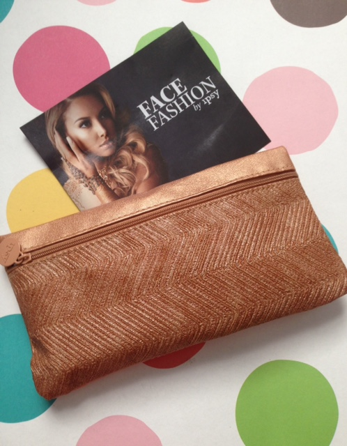 Face Fashion September 2015 ipsy Bag