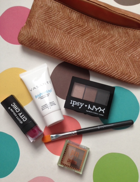 Face Fashion September 2015 Ipsy Bag Never Say Die Beauty