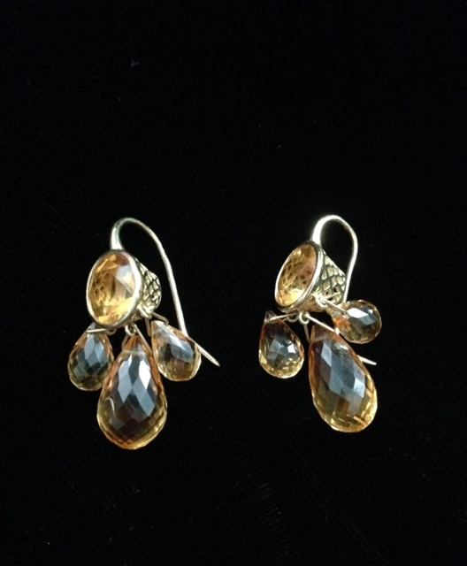 topaz chandelier earrings from Fragments neversaydiebeauty.com @redAllison