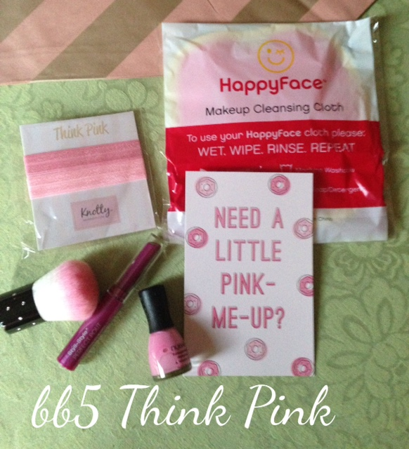 beautybox5 Think Pink box for October 2015 neversaydiebeauty.com