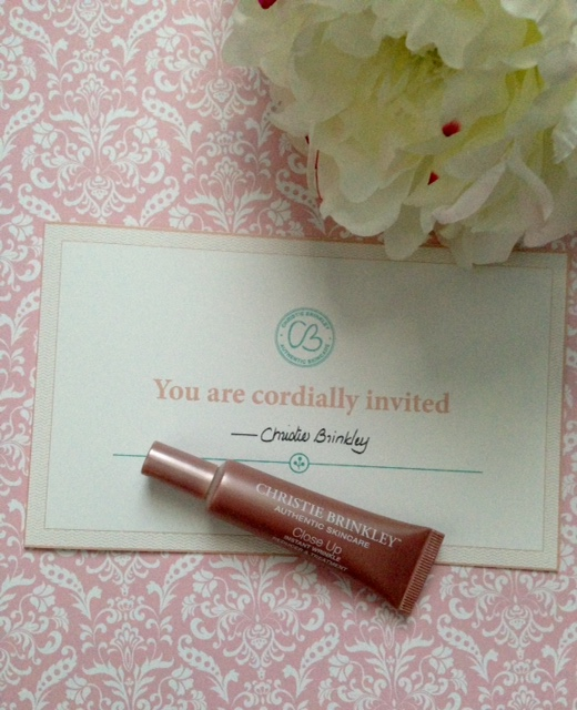 Christie Brinkley Close Up Instant Wrinkle Reducer neversaydiebeauty.com @redAllison