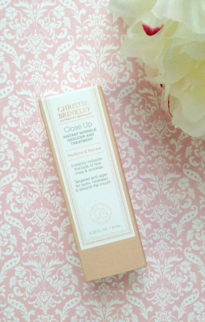 Christie Brinkley Authentic Skincare Close Up Instant Wrinkle Reducer neversaydiebeauty.com @redAllison