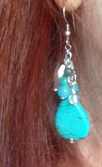World Vision handmade earring neversaydiebeauty.com @redAllison