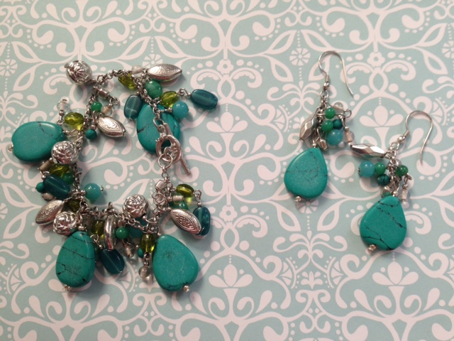 World Vision turquoise stone handmade jewelry neversaydiebeauty.com @redAllison