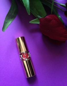 Yves Saint Laurent Rouge Volupe Shine Lipstick neversaydiebeauty.com @redAllison