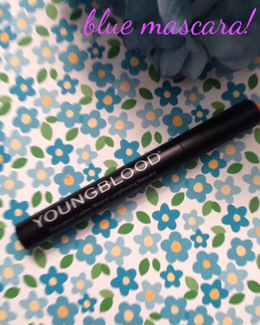 Youngblood Outrageous Lashes Lengthening Mascara in cobalt blue neversaydiebeauty.com @redAllison