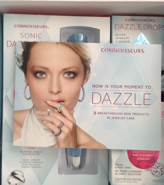 Connoisseurs Dazzle jewelry cleaning system neversaydiebeauty.com @redAllison