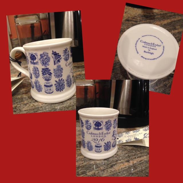 Crabtree & Evelyn anniversary mug 2016 neversaydiebeauty.com @redAllison
